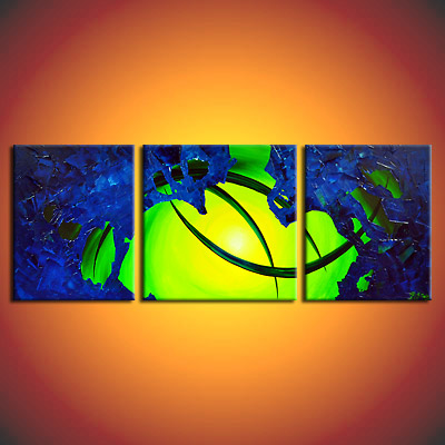 eventart k nig bipolar defect gem lde bilder acryl abstrakt kunst mehrteilig ebay. Black Bedroom Furniture Sets. Home Design Ideas